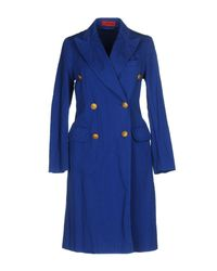 The Gigi Blue Overcoat