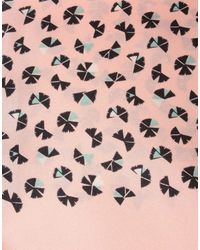 Marc By Marc Jacobs - Pink Oblong Scarf - Lyst