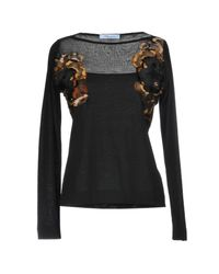 Blumarine - Black Sweater - Lyst