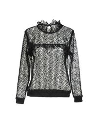 Anine Bing - Black Blouse - Lyst
