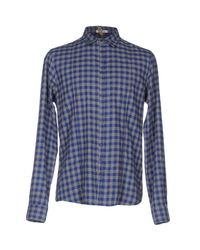Berna - Blue Shirt for Men - Lyst