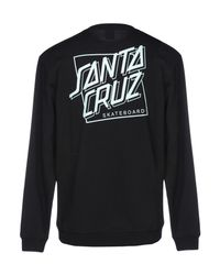 Santa Cruz - Black Sweatshirt for Men - Lyst