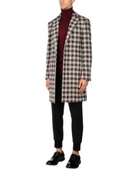 Lardini - Natural Coat - Lyst