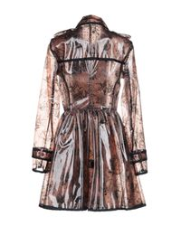 RED Valentino - Brown Overcoats - Lyst