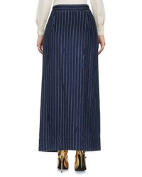 Vivienne Westwood Anglomania - Blue Long Skirts - Lyst