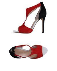 Aldo Castagna - Red Sandals - Lyst