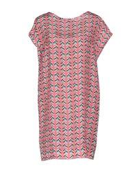 Marco Bologna - Pink Short Dress - Lyst