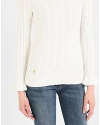 Lauren by Ralph Lauren White Jumper