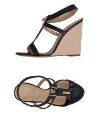 Vicini - Black Sandals - Lyst