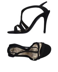 Alexander McQueen - Black Sandals - Lyst