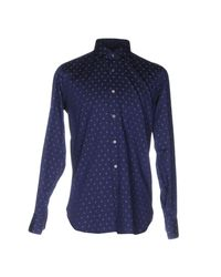 The Gigi - Blue Shirt for Men - Lyst