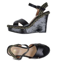 Pedro Del Hierro Madrid - Black Sandals - Lyst