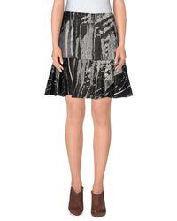 Philosophy di Alberta Ferretti - Gray Knee Length Skirt - Lyst