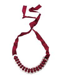 Ligia Dias - Purple Necklace - Lyst