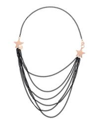 First People First - Black Necklace - Lyst