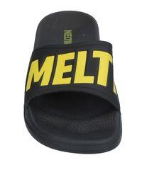 Meltin' Pot Black Sandals for men