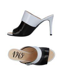 Fabi Black Sandals