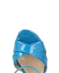 Vicini Tapeet - Blue Sandals - Lyst
