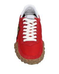 KENZO - Red Low-tops & Sneakers - Lyst