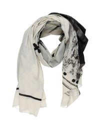 Lost & Found - Natural Oblong Scarf - Lyst
