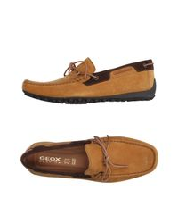 Geox - Brown Loafer for Men - Lyst