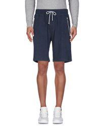 Brunello Cucinelli Blue Bermuda Shorts for men