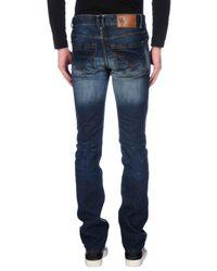 U.S. POLO ASSN. - Blue Denim Trousers for Men - Lyst