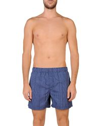 North Sails - Blue Swimming Trunks for Men - Lyst