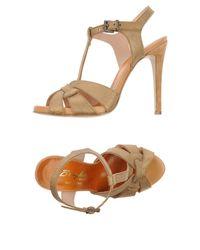 F.lli Bruglia - Multicolor Sandals - Lyst