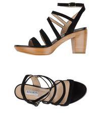 Fratelli Rossetti - Black Sandals - Lyst