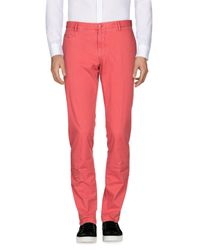 Altea - Red Casual Trouser for Men - Lyst