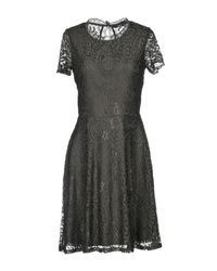 ONLY - Green Short Dress - Lyst