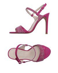 Pedro Del Hierro Madrid - Purple Sandals - Lyst
