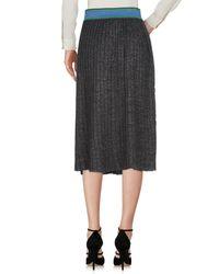 ISABELLE BLANCHE Paris Black 3/4 Length Skirt