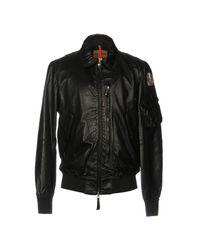 Parajumpers Black Jacket for men