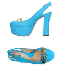 Moschino - Blue Pumps - Lyst