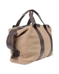 DSquared² - Natural Travel & Duffel Bag for Men - Lyst