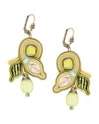 Dori Csengeri - Green Earrings - Lyst