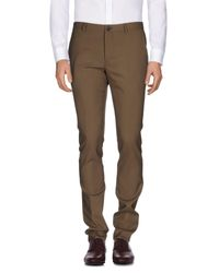 PS by Paul Smith - Green Casual Trouser for Men - Lyst