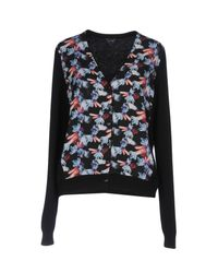 Armani Jeans - Multicolor Jewel Print Cardigan - Lyst