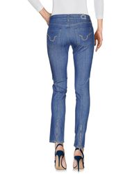 S.o.s By Orza Studio - Blue Denim Trousers - Lyst