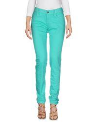 Armani Jeans - Green Denim Pants - Lyst