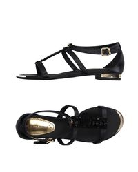Loretta Pettinari - Black Sandals - Lyst