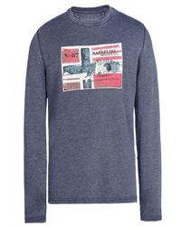 Napapijri | Blue T-shirt for Men | Lyst