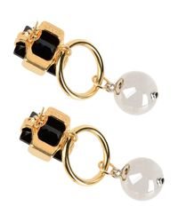 Marni - Black Earrings - Lyst