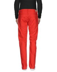 Hilfiger Denim - Red Denim Trousers for Men - Lyst