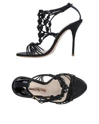 Sophia Webster | Black Sandals | Lyst