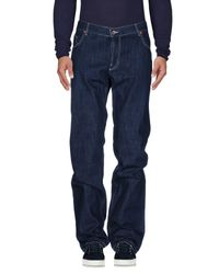 Seventy - Blue Denim Pants for Men - Lyst