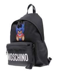 Moschino - Black Backpacks & Fanny Packs - Lyst