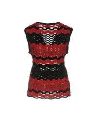 M Missoni - Red Sweater - Lyst